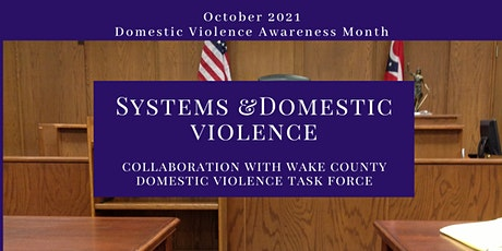 Systems & Domestic Violence tickets