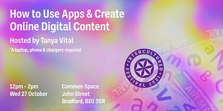 How to use apps & create online content with Tanya Vital! tickets