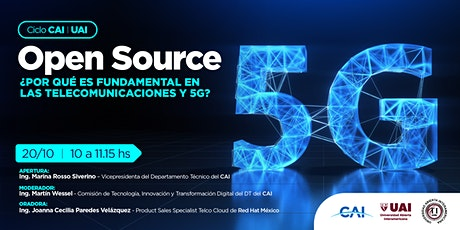 #CicloCAIUAI Open Source entradas