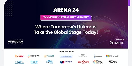 24 Hr Virtual Pitch Event Where Tomorrow's Unicorns Take the Global Stage! tickets