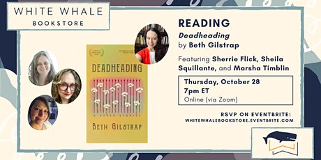 """Reading: """"Deadheading"""" by Beth Gilstrap w/ Flick, Squillante, and Timblin tickets"""