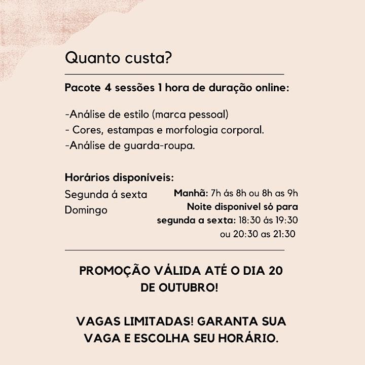 Imagem do evento CONSULTORIA DE ESTILO - ONLINE