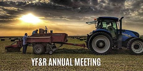 AZ YF&R Annual Meeting tickets