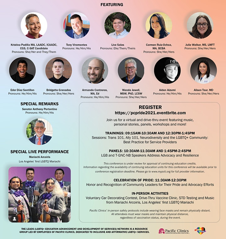Advocacy and Resilience, Now and Beyond COVID-19 Conference image