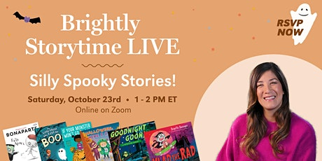 Brightly Storytime LIVE: Silly Spooky Stories! tickets