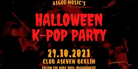 HALLOWEEN K-POP PARTY - Freitag, 29.10.2021 @Club ASeven by Aigoo Music Tickets