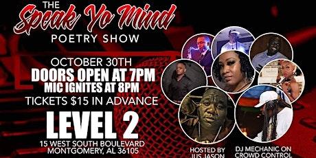 Speak Yo Mind  Poetry Show tickets
