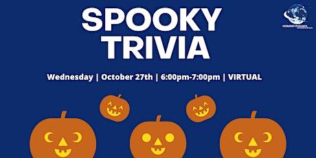 Spooky Trivia 2021 billets