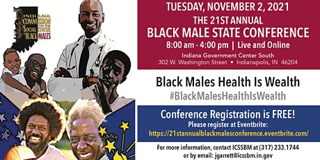 The 21st Annual Black Males Conference tickets