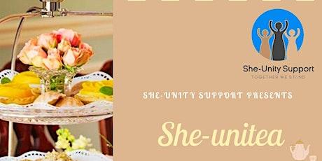 SHE UNI-TEA - Fundraising Afternoon Tea tickets