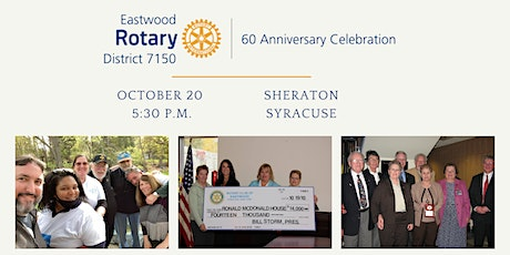 Eastwood Rotary 60th Anniversary Dinner Gala tickets