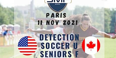 Détection Soccer Féminin billets
