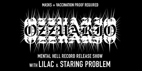 Ozzuario (Record Release) / Lilac (Record Release) / Staring Problem tickets