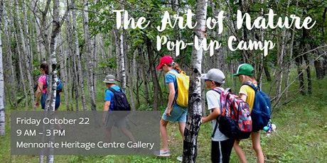 The Art of Nature Pop-Up Camp tickets