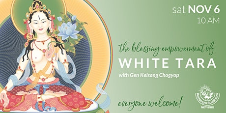 The Blessing Empowerment of White Tara tickets
