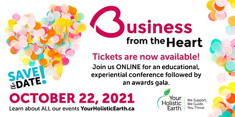Business From the Heart Conference & Awards Gala tickets
