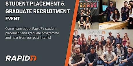 Rapid7 Placement & Graduate Recruitment Event tickets