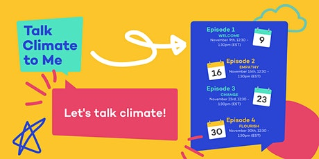 Talk Climate to Me - November Cohort tickets