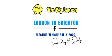 London to Brighton Electric Vehicle Rally 2022 tickets