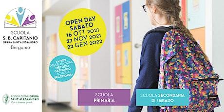 Scuola S.B. Capitanio / Open Day PRIMARIA 2021 - 2022 biglietti