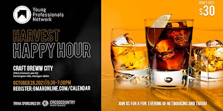 YPN Harvest Happy Hour tickets