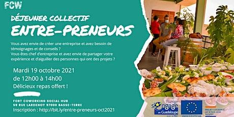 """Déjeuner collectif """"Entre-preneurs"""" billets"""