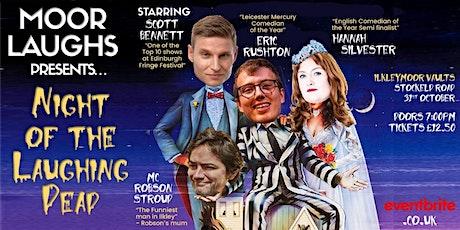 Moor Laughs Comedy Club - Scott Bennett, Eric Rushton, Hannah Silvester tickets
