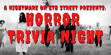 Try Hard Coffee & Nightmare on 5th St Present: Horror Movie Trivia Night tickets