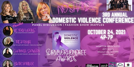 3RD ANNUAL-DOMESTIC VIOLENCE CONFERENCE-NO SHADE tickets