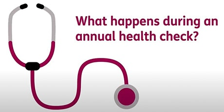 Annual Health Checks (for young people 14+) Q&A with Oxford Health tickets