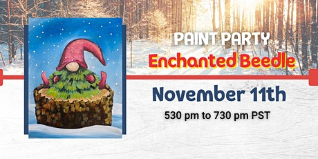 Winter Gnome Paint Night  @ The Enchanted Beedle tickets