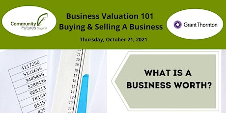 Business Valuation 101 - Buying and Selling A Business tickets