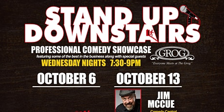 Standup Comedy Downstairs at The Grog tickets