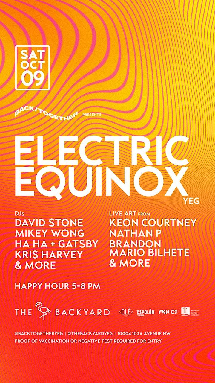 BackTogether presents ELECTRIC EQUINOX Sat Oct 9 image