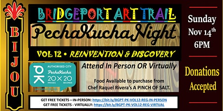 Bridgeport Art Trail Presents: PECHAKUCHA tickets