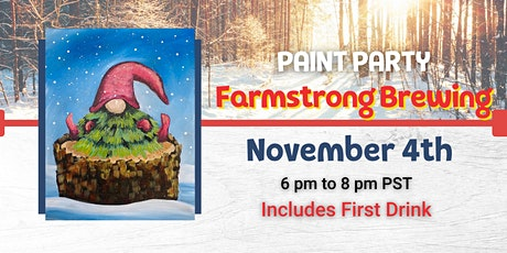 Winter Gnome Paint Night @ Farmstrong tickets