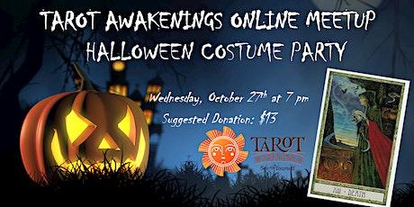 Tarot Awakenings Online Halloween Costume Party! tickets