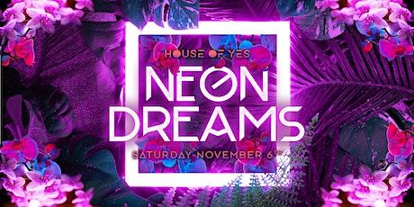 Neon Dreams tickets