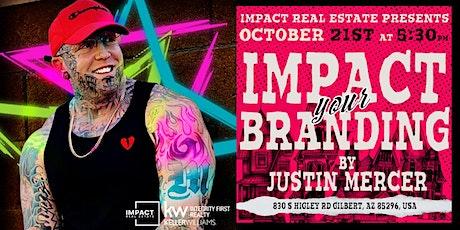 Impact your Branding tickets