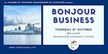 Bonjour Business Fair tickets