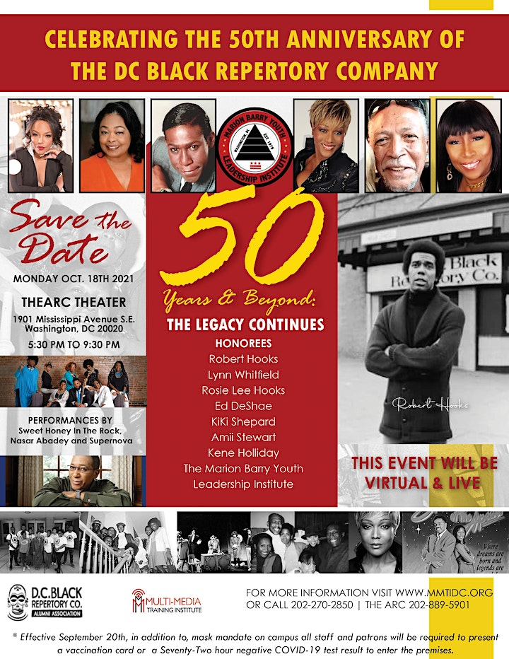 50th Anniversary Celebration: 50 Years and Beyond... The Legacy Continues image