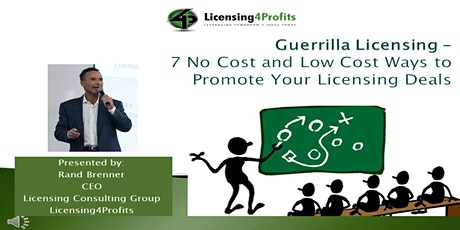7  Ways to Promote Your Licensing Opportunity tickets