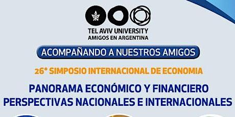 26° Simposio Internacional de Economía entradas