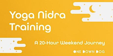 Yoga Nidra: A Weekend Journey into the Yoga of Sleep tickets