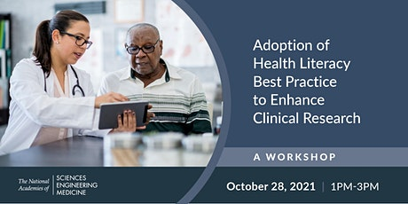 Adoption of Health Literacy Best Practice to Enhance Clinical Research tickets