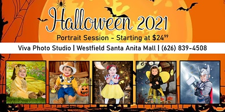 Halloween Photos at Santa Anita Mall 2021 tickets