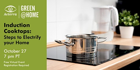 Induction Cooktops: Steps to Electrify Your Home tickets