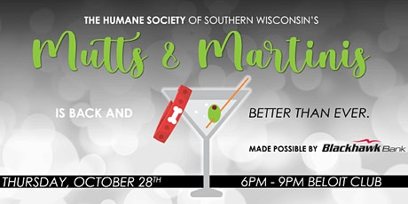Mutts & Martinis 2021 tickets