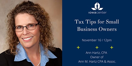 Tax Tips for Small Business Owners tickets