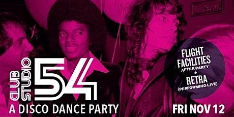 Club Studio 54 - A Disco Dance Party tickets